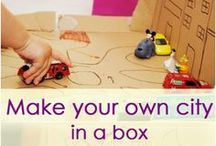 Cardboard Crafts for Kids / Cardboard Crafts for Kids, easy craft ideas involving cardboard paper and cardboard boxes
