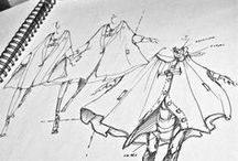 Fashion Sketches / Fashion Sketches / by Cassandra Carter