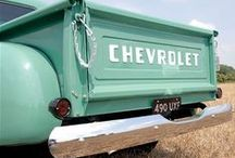 Vintage Chevy Pick-Up Trucks / Dreaming of a Fun Vintage Truck Just to Putter Around My Neighborhood