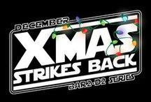 Xmas Strikes Back / Where Star Wars meets Xmas in an epic Chicago pub crawl this December. Start crafting your costumes with your favorite characters with the twist of the holidays.