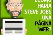 Web  / Relacionado al diseño, programación, estructura, mapa del sitio de páginas web