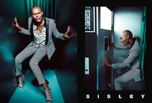 """Sisley SS16 Campaign - Under My Skin / A free, original and non-conformist spirit. Sexy, energetic, dynamic and spontaneous: the natural choice for the new face of Sisley SS 2016 is Skin, lead vocalist for Skunk Anansie, who perfectly personifies the brand's mood. The new Campaign is set in a photo booth, a """"non-place"""" where anyone can feel free to express their emotions without filters, liberating their true inner self and feelings."""