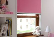 Little Girls' Bedroom Decor Ideas / Little girls love colour, fun and the ability to express themselves. Bloc Blinds offer a large range of fabrics to suit your child's bedroom and, when the time comes to change, our award winning Fabric Changer Roller Blinds allow you to update your room in seconds! Zero fuss