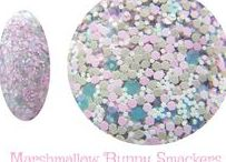 Marshmallow Bunny Smackers Nail Polish GlitterLambs.com