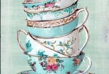 Tea Cups...so Precious / by ♛carol jensen
