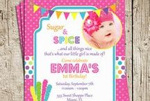 Sweet Shoppe / Candy Land Party