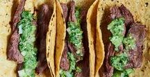 Tacos & Taco Fillings / Nothing but tacos, authentic and otherwise. Find the best taco, taco fillings, and taco seasoning recipes. Beef tacos, chicken tacos, vegetarian tacos, vegan tacos, street tacos, taco stands. Corn tortillas and flour tortillas.