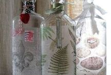 Jar and Bottle Projects / by ♛carol jensen