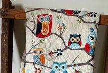 Fabric Fun / I love quilts, they always have a story to tell!