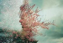 photography / multiple exposure, portraits, conceptual