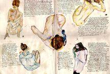 sketchbooks / sketchbooks / journals / collages