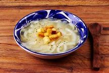 Soups & Stews / Authentic Mexican soups and stews: tortilla soup, pozole, chili verde, chicken soup, caldo de pollo, beef soup, caldo de res.
