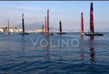 America's Cup 2013 @ Napoli / il più famoso torneo nello sport della vela svolto nel magnifico golfo di Napoli