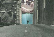 collages / cut + paste