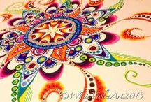 Drawing ispirations / Drawings, doodles, zentangle