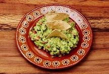 Guacamole & Dips / Guacamole and Mexican Dips