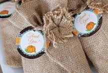Rustic Little Pumpkin Baby Shower / Fall Little Pumpkin Baby Shower Party Ideas, Printable set with wood, burlap and lace