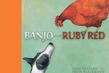 Banjo and Ruby Red Teaching Notes / GLEESON, Libby (author), BLACKWOOD, Freya (illus), Little Hare, 2013.  Teaching activities including fun crafts, Literacy and Mathematics for the book, Banjo and Ruby Red. Suitable for ages 4 - 8.  www.romisharp.wordpress.com/banjo-and-ruby-red-teaching-notes