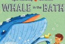 Whale in the Bath Teaching Notes / WESTAWAY, Kylie (author), JELLETT, Tom (illus), Allen&Unwin, 2014.  Educational teaching notes and ideas for children from age four, including Literacy, Mathematics, Art and Crafts and Science.  www.romisharp.wordpress.com/whale-in-the-bath-teaching-notes