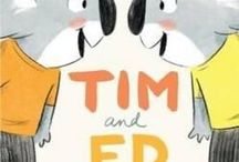 Tim and Ed Teaching Notes / DUBOSARSKY, Ursula (author), JOYNER, Andrew (illus), Penguin, 2014.  Educational teaching notes and ideas with relevant Literacy, Maths, Science, Arts and Crafts, plus more! They're double the fun!  www.romisharp.wordpress.com/tim-and-ed-teaching-notes www.facebook.com/mylittlestorycorner