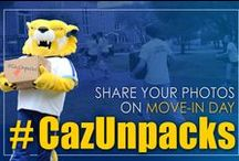 #CazUnpacks / Students shared photos during Move-In Day using #CazUnpacks / by Cazenovia College