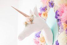 Princess Sparkles first birthday / Pretty much unicorns, glitter, and pink  / by Kristen McCauley