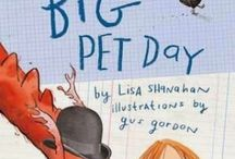 Big Pet Day Teaching Notes / SHANAHAN, Lisa (author), GORDON, Gus (illus.), Lothian Children's Books, 2014.  Winning ideas and massive goodness with these teaching notes for Big Pet Day, including Literacy, Maths, Science and Arts and Crafts.  www.romisharp.wordpress.com/big-pet-day-teaching-notes www.facebook.com/mylittlestorycorner