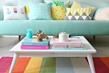 Decorating | Colour / Inspiration for filling the home with colour!