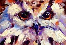 Owls & Art