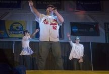 Battle of the Airbands 2016 / A Caz tradition, students battle head to head, lip synching to their favorite artists. The event is sponsored and executed by Caz CAB (campus activities board).  *Photos courtesy of students Mike Gill and Sheri Case. / by Cazenovia College