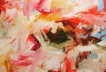 pintura / Las pinturas que inspiran,de grandes como David hockney o de contemporáneos que me atraen / by maria ponzio
