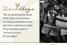 DeskBags / DeskBags provide a unique product to address the shortage of school desks in Africa, with a particular focus on Southern Africa.