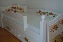 """Ágymester - """"Bonita"""" ágyak / """"Bonita"""" bedframes / Alap esetben 90x200cm és 80x160cm matracméretű gyerekágy,igény szerint más méretben is készítjük."""
