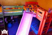 Pontjó emeletes ágyak és galériaágyak / Utólag két külön ágyként használható (szétszedhető) emeletes ágyunk 90x200cm matracmérettel. Kérésre egyéb méretben is készítjük!