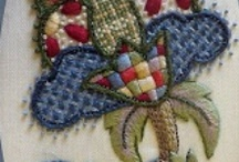 Jacobean  and Crewel Embroidery / by Catherine Carlile