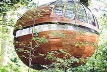 Treehouse Living / Homes, hangouts, and hotels within the trees.