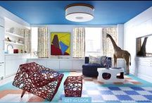 Kids' Spaces / Fantastic interiors for kids, including bedrooms, playrooms, and places to lounge.