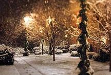 Winter Wonderland / Burrrr, it's cold outside! So grab a cup of hot coco and sit by the fire :)