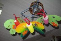 Kinderaktivitäten/Kreativ sein / Bastelvorschläge, Malen, Kinderbeschäftigung, spielerisch Lernen