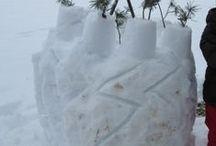 Kinderaktivitäten im Schnee / Kinderaktivitäten im Winter - für draußen