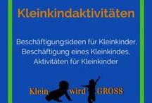 Kleinkindaktivitäten / Aktivitäten für Kleinkinder, Beschäftigungsideen für Kleinkinder, Beschäftigung eines Kleinkindes