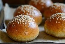 Bread recipes / Breads, loaves, buns and rolls