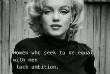 Supervrouwen Quotes / Quotes van supervrouwen om je te inspireren.