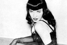 Bettie Page /  Queen pin-up girl