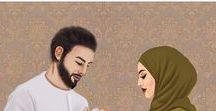 halal love cartoon / صلاتك أولاً .. ثم أطلب من الله ما شئت اللهم هب لي قلباً، لا يتكاسل عن صلاتك ولا يؤخرها.