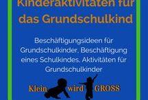 Kinderaktivitäten Grundschulalter / Beschäftigungsideen für Grundschulkinder, Beschäftigung eines Schulkindes, Aktivitäten für Grundschulkinder