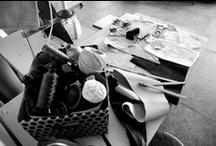 "Iutta Design Studio / Iutta Studio. The place where the first bag collection - ""Efflorescent Spirit"" was handmade."