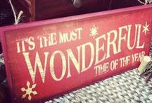 It's the most wonderful time... / Anything and anything christmas.
