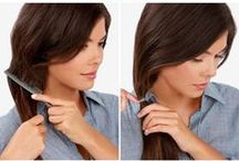 DIY Hairdo / Easy, do-it-yourself guides for you to make your hairdo fab - braids, tails, buns you name it!