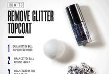 DIY Naildo / Easy, do-it-yourself guides for you to make your nails look fab - colours, patterns, glitter you name it!